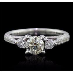 18KT White Gold 1.57 ctw Diamond Ring
