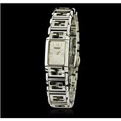 Fendi Orologi Stainless Steel Watch