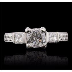 Platinum 1.33 ctw Diamond Ring