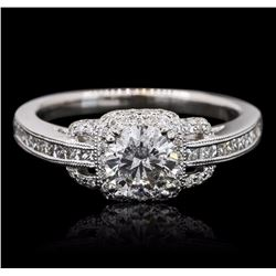 18KT White Gold 1.42 ctw Diamond Ring