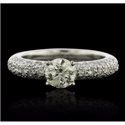 18KT White Gold 1.47 ctw Diamond Ring