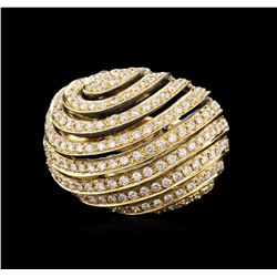 18KT Yellow Gold 1.25 ctw Diamond Ring