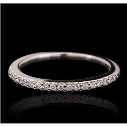 14KT White Gold 0.20 ctw Diamond Ring