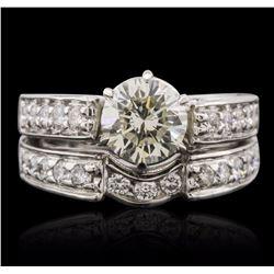 Platinum 2.95 ctw Diamond Ring