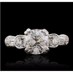14KT White Gold 2.41 ctw Diamond Ring