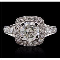 14KT White Gold 2.01 ctw Diamond Ring