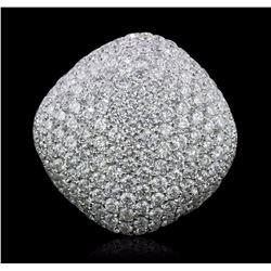 18KT White Gold 7.44 ctw Diamond Ring