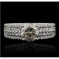 18KT White Gold 1.58 ctw Diamond Ring