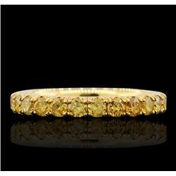 14KT Yellow Gold 1.27 ctw Diamond Ring
