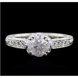 18KT White Gold 1.27 ctw Diamond Ring