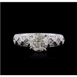 18KT White Gold 1.73 ctw Diamond Ring