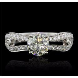 18KT White Gold 1.64 ctw Diamond Ring