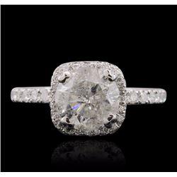 18KT White Gold 2.84 ctw Diamond Ring