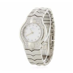 Tag Heuer Stainless Steel Diamond Ladies Watch