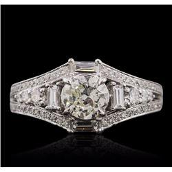 18KT White Gold 2.17 ctw Diamond Ring
