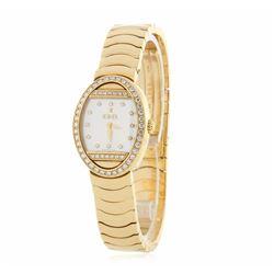 Ebel Satya 18KT Yellow Gold Diamond Watch