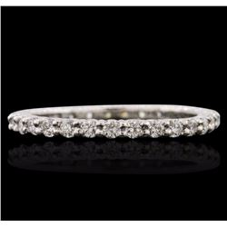 14KT White Gold 0.70 ctw Diamond Ring