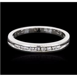14KT White Gold 0.20 ctw Diamond Ring