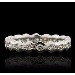 14KT White Gold 0.99 ctw Diamond Ring