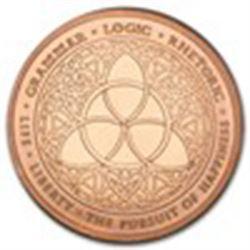 5 oz Copper Round - Trivium