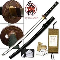 "HANDFORGED RYUMON 40.5"" SAMURAI SWORD"