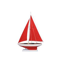 """Hand Made Pacific Sailer Red 25"""" - Red Sails"""