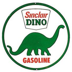 ANTIQUE STYLE SINCLAIR DINO GASOLINE SIGN