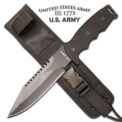 U.S ARMY 11.75  FIXED BLADE KNIFE W/SHEATH