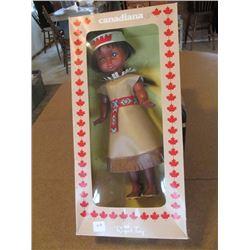 1975 Canadiana Native Doll