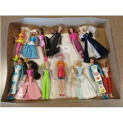Miniture Barbies