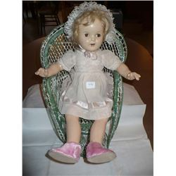 Unmarked Composition Doll