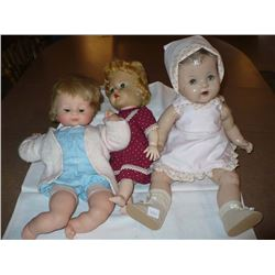 assorted Dollies 19  Compo with crazing