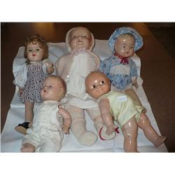 Composition Dolls (5)