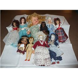 Assorted Small Dolls (10)