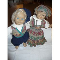 Pair of Soft Bodied Dolls
