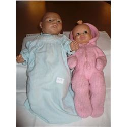 Three Faced Doll in pink by Reliable Vinyl newborn made in China