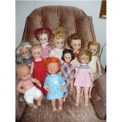 Assorted Dolls (10)