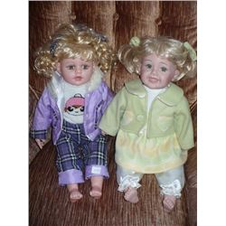 Cathy Collection Purple Clothing Doll 1718/5000 Green Clothing Doll 741/5000