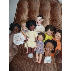 Assorted Black Dolls & others (8)