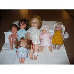 Vinyl Dolls small size various heights (6)