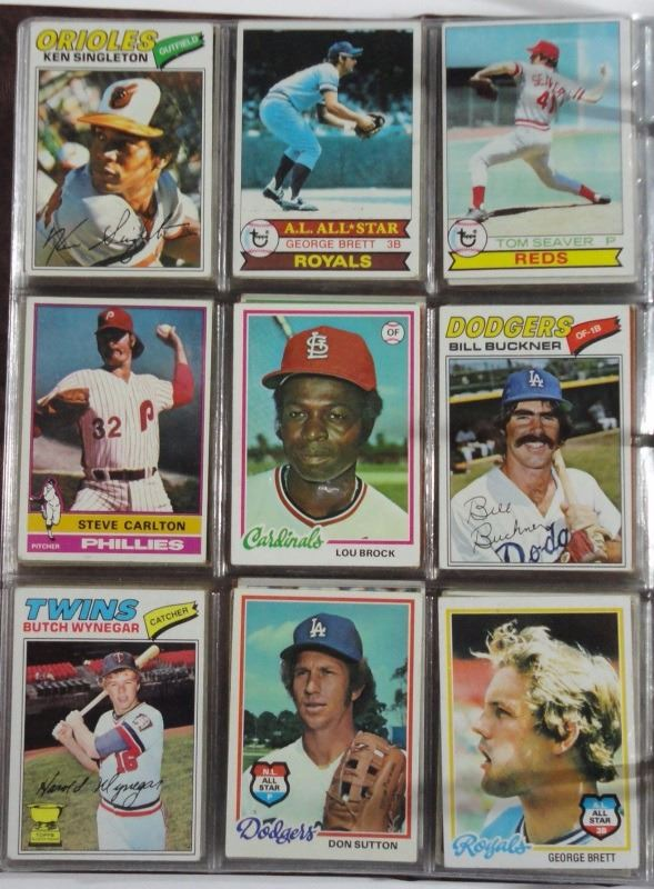 1960s 70s 80s Sport Card Lot Loaded With Stars Rookies 196 Cards