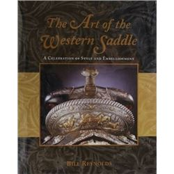 """The Art of the Western Saddle"" hardback book"