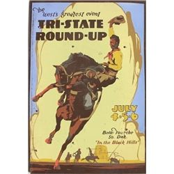 Early Tri State Roundup poster