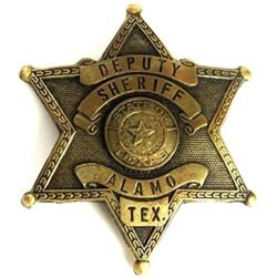 Authentic Deputy Sheriff 6 point star badge