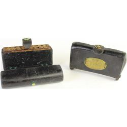 Two US leather cartridge pouches