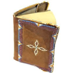 Sioux New Testiment Bible with leather beaded