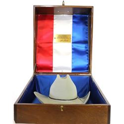 Custom Texas  Sesquicentennial 1836-1986 felt hat No. 94