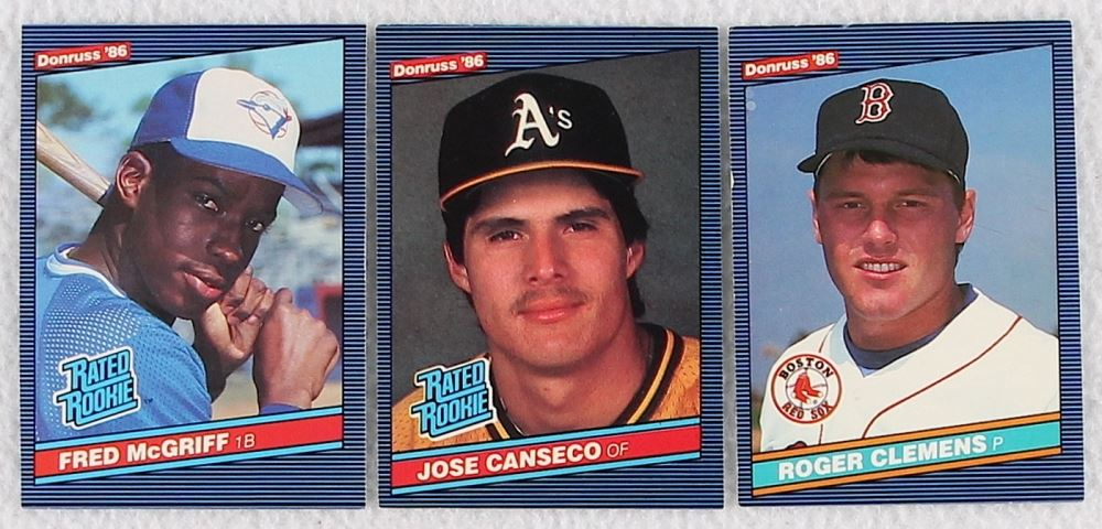 1986 Donruss Complete Set Of 660 Baseball Cards With 28