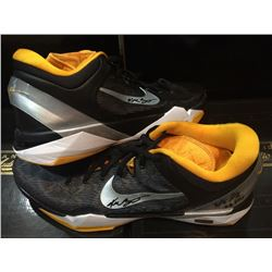 975187b5c773 Pair of (2) Kobe Bryant Signed Lakers Game-Used Nike Basketball Shoes