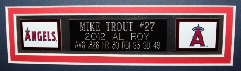 86ed958513d ... Image 3   Mike Trout Signed Angels 35